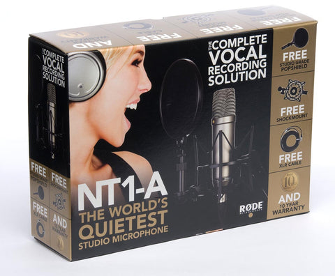 Rode Microphones NT1A Condenser Mic Bundle