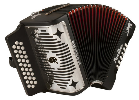 Hohner Black Panther Accordion G-C-F 3100GB