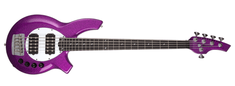 Ernir Ball Music Man Bongo 5 HH - Fuschia Sparkle