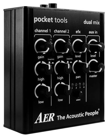 AER Pocket Tools Dual Mix Compact Mixer - L.A. Music - Canada's Favourite Music Store!