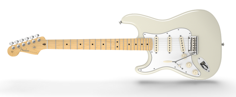 American Professional Stratocaster Left Handed Maple Neck Olympic White 0113032705 - L.A. Music - Canada's Favourite Music Store!