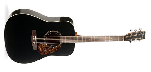 Norman Protege B18 Cedar Black Presys Acoustic Electric Guitar 027323 - L.A. Music - Canada's Favourite Music Store!