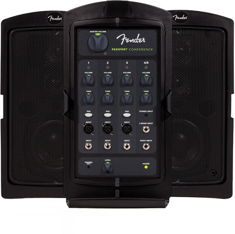Fender Passport CONFERENCE, 120V, Black 6945000000 - L.A. Music - Canada's Favourite Music Store!