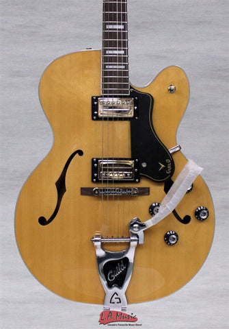 Guild Limited Edition GSR X-150D Blonde Savoy Electric Guitar 3822000801 - L.A. Music - Canada's Favourite Music Store!