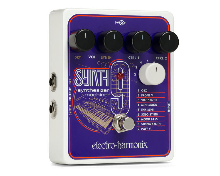 Electro Harmonix SYNTH 9 EHX Pedal | L A  Music - Canada's