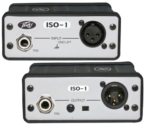 Peavey ISO-1 is a transformer isolated interface