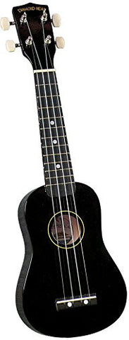 Diamond Head Uke Soprano Black - L.A. Music - Canada's Favourite Music Store!