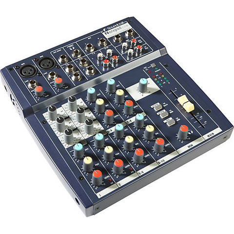 Soundcraft Notepad 102 Mixer 10 input mixer