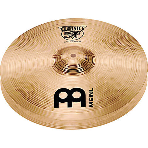 "Meinl Classics 14"" Medium Hats Floor Model Clearance - L.A. Music - Canada's Favourite Music Store!"