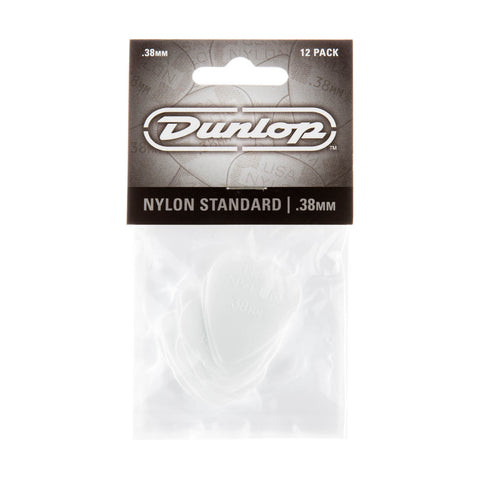 Dunlop 0.38mm Nylon Guitar Pick 12 bag 44P-38