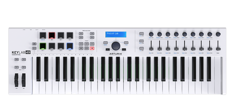 Arturia KEYLAB ESSENTIAL 49 Easy to Use 49 key controller Packed with Features