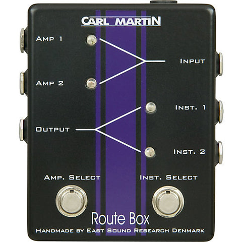 Carl Martin Route Box Double A/B Footswitch - L.A. Music - Canada's Favourite Music Store!