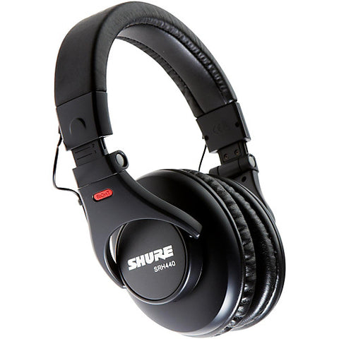 Shure SRH440 - Closed-Back Pro Studio Headphones