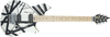 EVH Wolfgang Special Maple Fingerboard Black and White Stripes