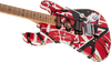 EVH Striped Series Frankie Red - White - Black Relic 5107900503 NEW FOR 2020