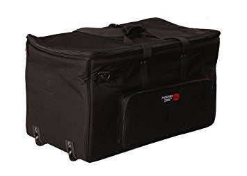 "Gator Electronic Drum Kit Bag with Wheels. Internal Dimensions 36"" x 16"" x 16"" GP-EKIT3616-BW - L.A. Music - Canada's Favourite Music Store!"