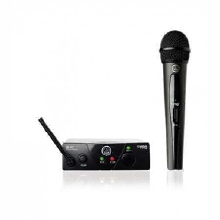 AKG WMS 40 MINI Vocal Set - Handheld Wireless Microphone System (Analog)