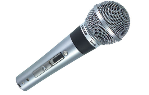 Shure 565SD LC Cardioid Dynamic Microphone with Switch  Dual Impedance