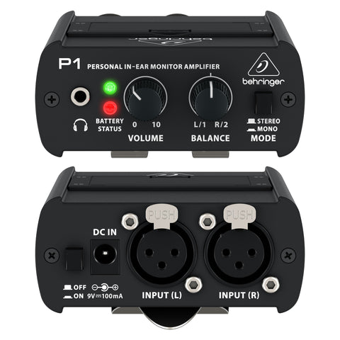 Behringer P1 POWERPLAY Personal In-Ear Monitor Amplifier