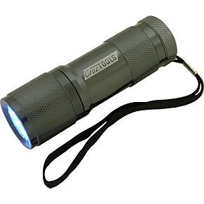 CruzTOOLS - Cruz Tools Superbright 9-LED Flashlight - L.A. Music - Canada's Favourite Music Store!