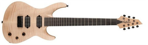 Jackson USA Select B7DXMG, Ebony Fingerboard, Neck-Thru, EMG Pickups, with Case, Au Natural 2807071858 - L.A. Music - Canada's Favourite Music Store!