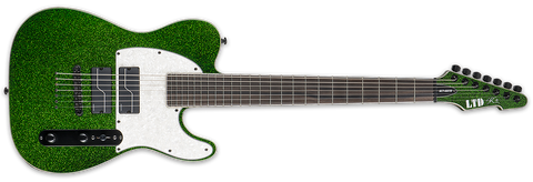 ESP LTD STEPHEN CARPENTER SCT-607B GREEN SPARKLE - L.A. Music - Canada's Favourite Music Store!