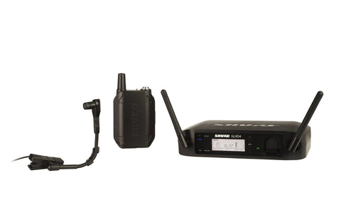 Shure GLXD14/B98-Z2 Wireless Instrument System with WB98H/C Microphone