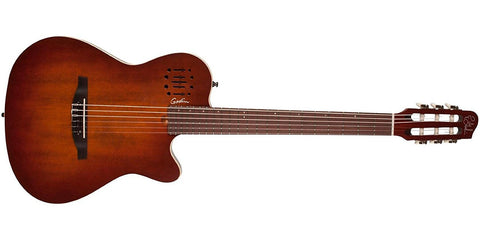Godin Guitars Multiac Nylon Encore Burnt Umber 042180 - L.A. Music - Canada's Favourite Music Store!