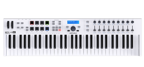 Arturia KEYLAB ESSENTIAL 61 Easy to Use 61 key controller Packed with Features
