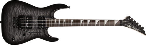 Jackson JS32Q Dinky Arch Top, Rosewood Fingerboard, Quilted Maple Transparent Black 2910237585 - L.A. Music - Canada's Favourite Music Store!