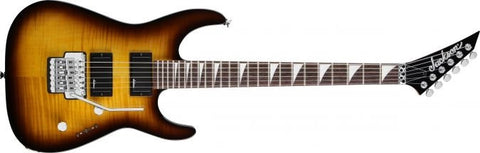 Jackson JS32R Dinky Electric Guitar with Floyd Rose Tobacco Burst 2910037382 - L.A. Music - Canada's Favourite Music Store!