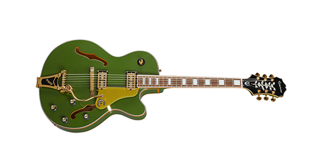 Epiphone Emperor Swingster ETSWFGGB Forest Green Metallic