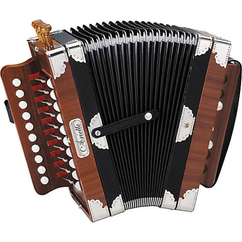 Hohner 3002 Arielle Accordion Including Case - Open Box