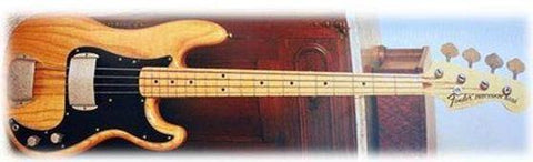 Fender Special Edition Limited Edition 70's P Bass Natural