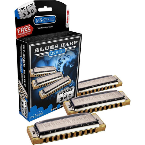 Hohner - Blues Harp Pro Pack, CGA - L.A. Music - Canada's Favourite Music Store!