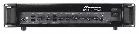 Ampeg SVT7PRO 1000W RMS Tube Preamp D Class Power Amp - L.A. Music - Canada's Favourite Music Store!