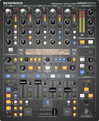 Behringer DDM4000 Ultimate 5 Channel Digital DJ Mixer  With Sampler - L.A. Music - Canada's Favourite Music Store!
