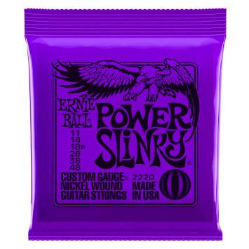 Ernie Ball Power Slinky Purple Slinky EBP02220 - L.A. Music - Canada's Favourite Music Store!