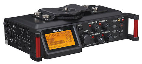TASCAM DR-70D PORTABLE RECORDER FOR DSLR