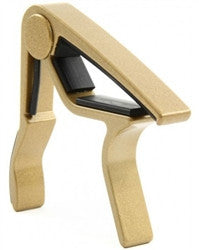 Dunlop 84FDG Acoustic Guitar Trigger Capos Flat (Gold) - L.A. Music - Canada's Favourite Music Store!