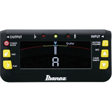 Ibanez MU2 Tuner and Metronome - L.A. Music - Canada's Favourite Music Store!