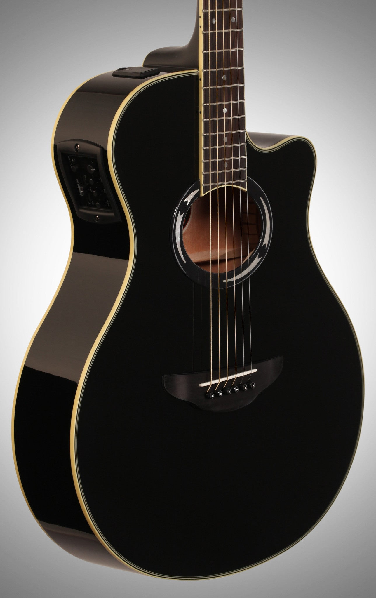 yamaha apx500iii black acoustic electric guitar l a music canada 39 s favourite music store. Black Bedroom Furniture Sets. Home Design Ideas