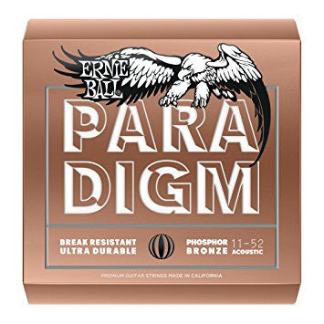 Ernie Ball Paradigm Acoustic Strings Phosphor Bronze Light 11-52 - L.A. Music - Canada's Favourite Music Store!