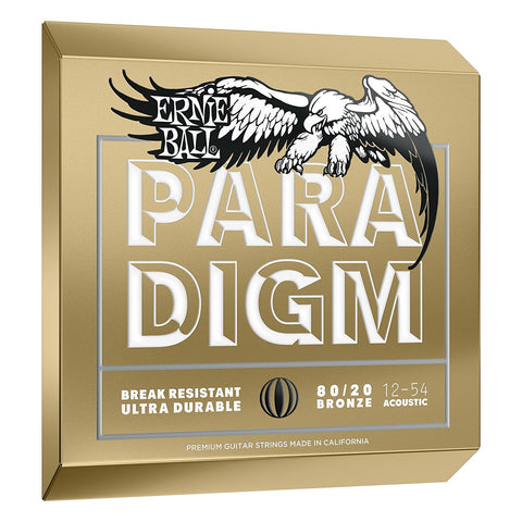 Ernie Ball Paradigm Acoustic Strings 80/20 Medium Light 12-54 - L.A. Music - Canada's Favourite Music Store!