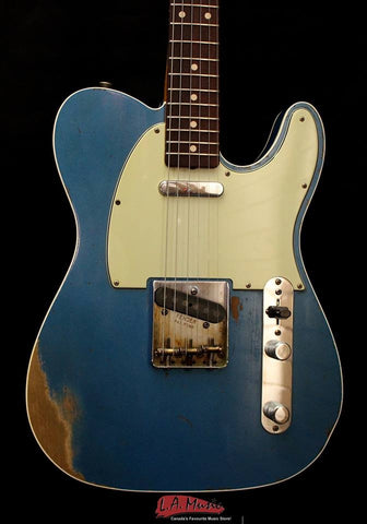 Fender Custom Shop Master Built Dale Wilson Telecaster'' Relic Lake Placid Blue 9216008098