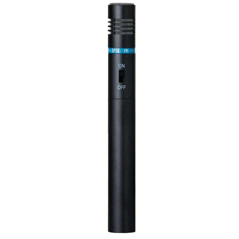 Apex 191 Powered Pencil Condenser w/ On/Off Switch Microphone - L.A. Music - Canada's Favourite Music Store!