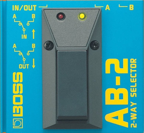 Boss AB 2 2-Way Selector - L.A. Music - Canada's Favourite Music Store!