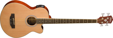 Washburn Acoustic Bass AB5K Natural
