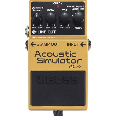 Boss AC 3 Acoustic Simulator - L.A. Music - Canada's Favourite Music Store!