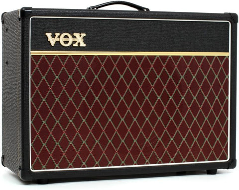 Vox 15 watt 2-channel All-tube 1x12 inch Guitar Combo Amplifier with Tremolo and Reverb AC15C1